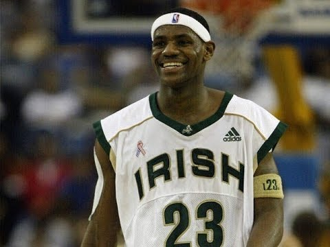 LeBron James High School Highlights