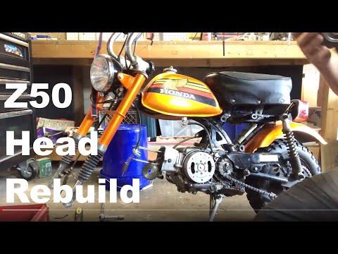 1978 Honda Z50A Head Rebuild