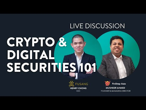 Crypto & Digital Securities 101 - Live Discussion