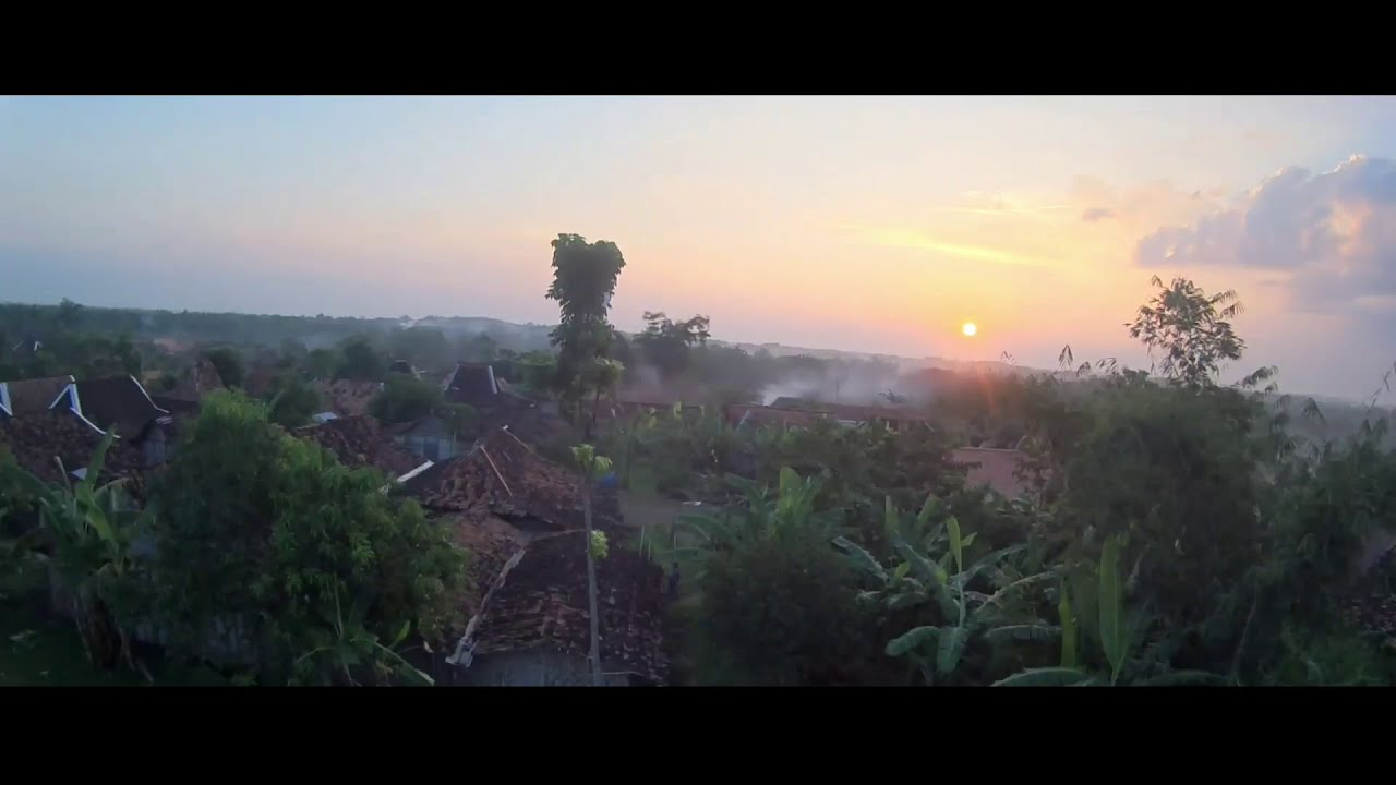 Senjaku di Dusun pacing | FPV Drone Sunset ???? картинки