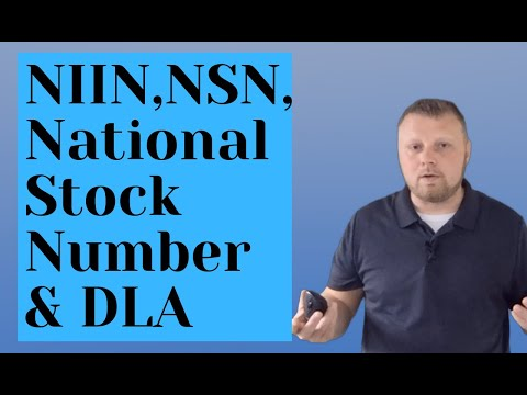 National Stock Numbers (NSN/NIIN) Explained with Defense Logistics Agency (DLA) History