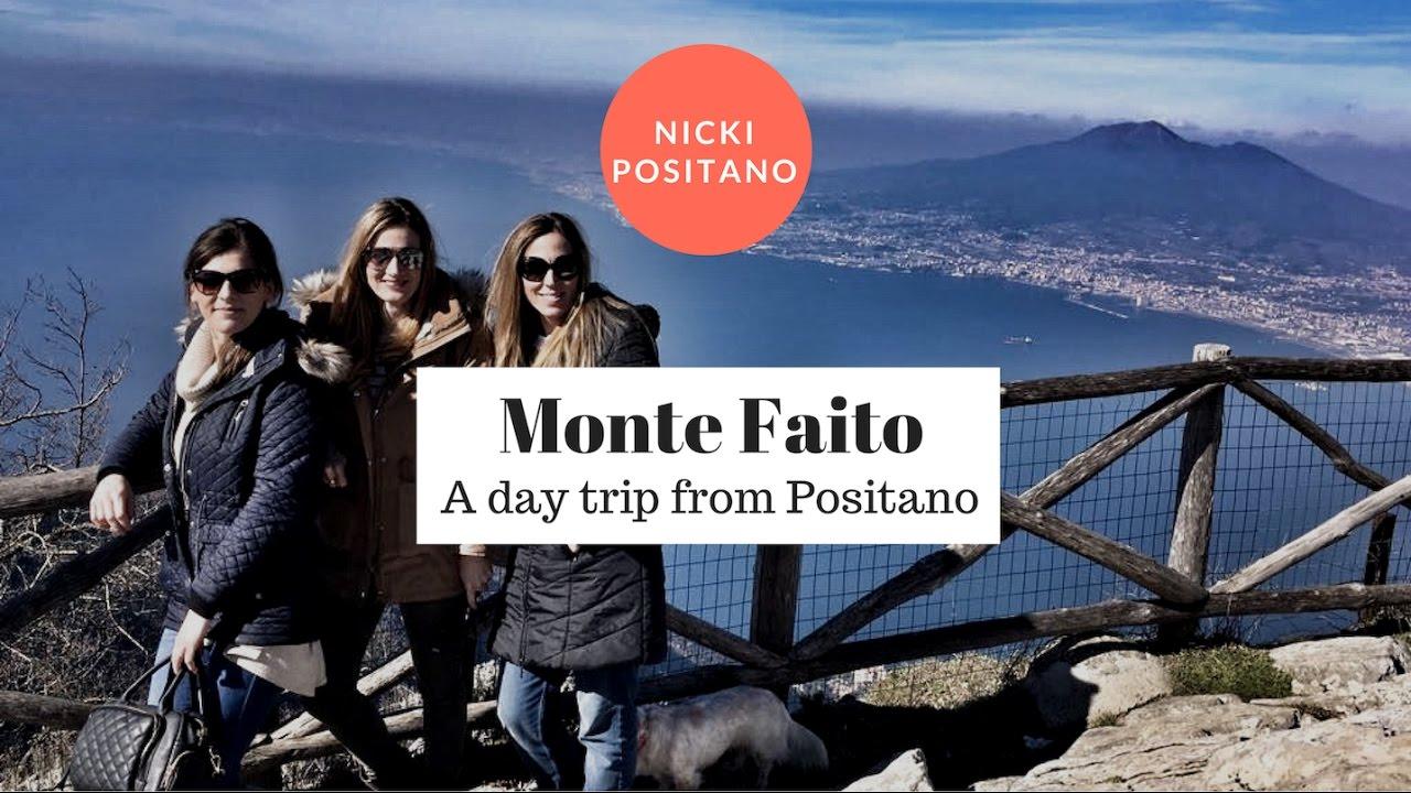 Day trip from Positano - Monte Faito