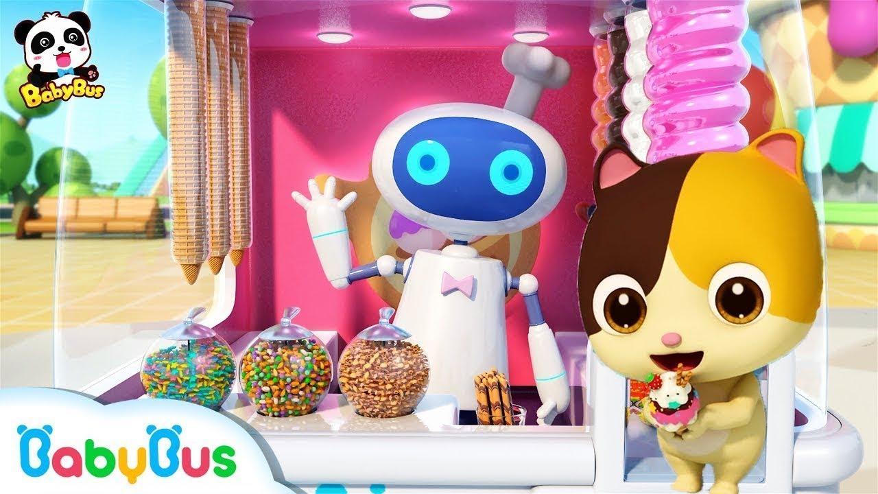 أوه! إنها المثلجات اللذيذة | اغاني الأطعمة للاطفال | بيبي باص | BabyBus Arabic