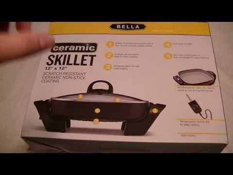 Unboxing Bella Ceramic Electric Skillet