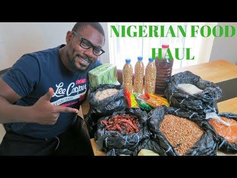 MY NIGERIAN FOOD HAUL 😋👌| NIGERIAN TRAVEL VLOG 03