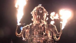 Burning Man 2011: Steampunk Octopus