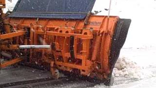 Ever seen a snow plough slide backwards on ice?