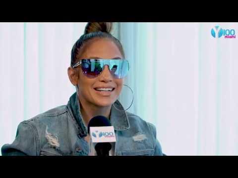 Jennifer Lopez speaks with Y100's Frankie P