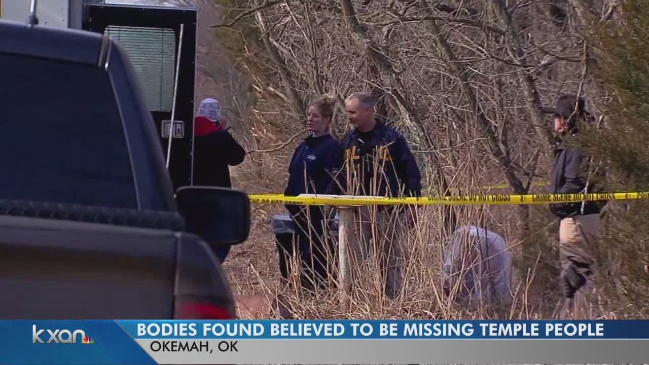 Two bodies found in Oklahoma believed to be those missing from Temple