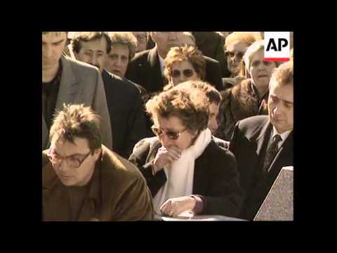 SPAIN: MADRID: FUNERAL OF JUDGE KILLED BY BASQUE SEPARATISTS