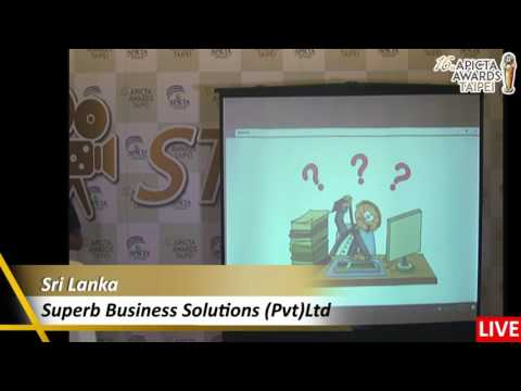 2016 APICTA Studio of Superb Business Solutions (Pvt)Ltd from Sri Lanka