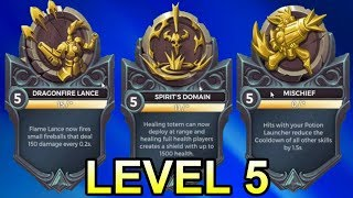 ALL 34 NEW OB64 Legendary Cards (LEVEL 5 / LEVEL 10) - Paladins PTS