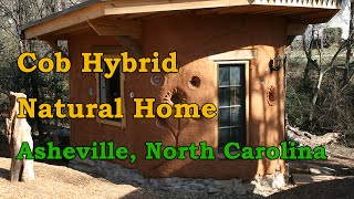 Hybrid Cob House in Asheville, North Carolina