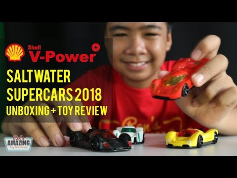 Shell Saltwater SuperCars 2018 Unboxing + Toy Review - Смешные видео приколы