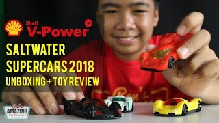 Shell Saltwater SuperCars 2018 Unboxing + Toy Review