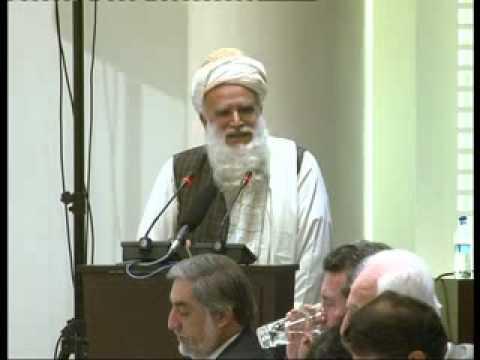 سخنرانی محترم استاد سیاف در کانفرانس بین المللی صلح .flv