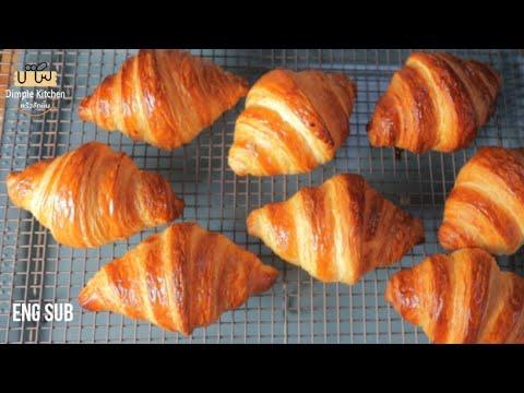 Great Croissants Recipe  แจกคุณฟรีๆ สูตรครัวซอง พร้อมวิธีทำ เข้าใจง่าย ทำเองที่บ้าน สูตรแนะนำ