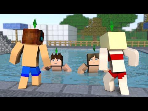 Minecraft : O MELHOR PEDIDO DE NAMORO !! - The Sims Craft