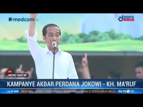 Jokowi: Hoaks Harus Dilawan, Jangan Diam! (Kampanye Akbar Perdana Jokowi-Ma'ruf)
