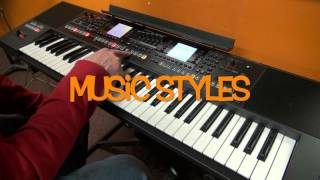 Roland E-A7 Keyboard Demonstration