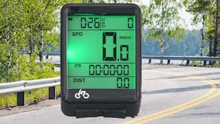 Bike Wireless Bicycle Speedometer Testing