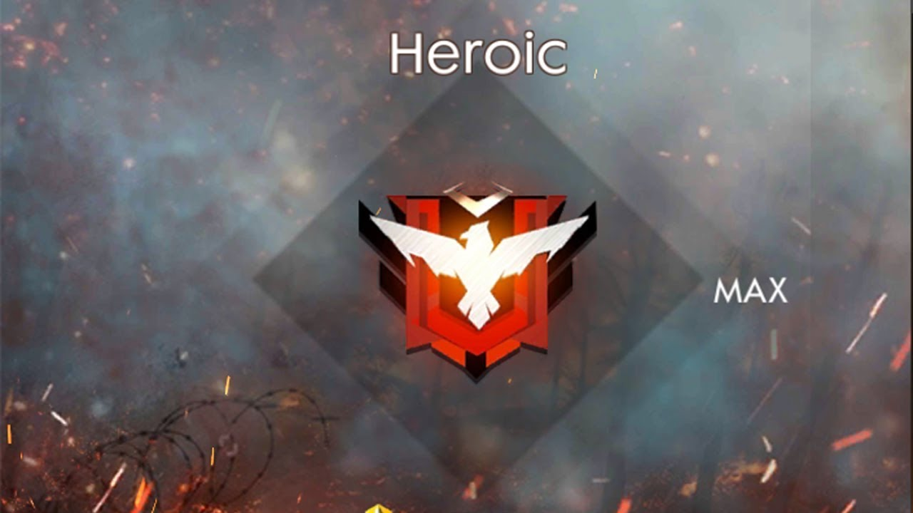 Free Fire Ranked Game Heroic Global Squad Giveaway