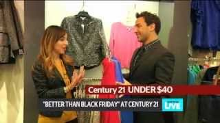 Century 21 Department Store's Better Than Black Friday Event on New York Live Thumbnail