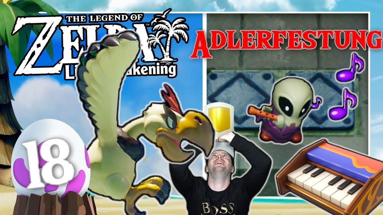THE LEGEND OF ZELDA LINK'S AWAKENING 🗡️ #18: Gegen Grim Creeper & Teufelsadler in der Adlerfestung thumbnail
