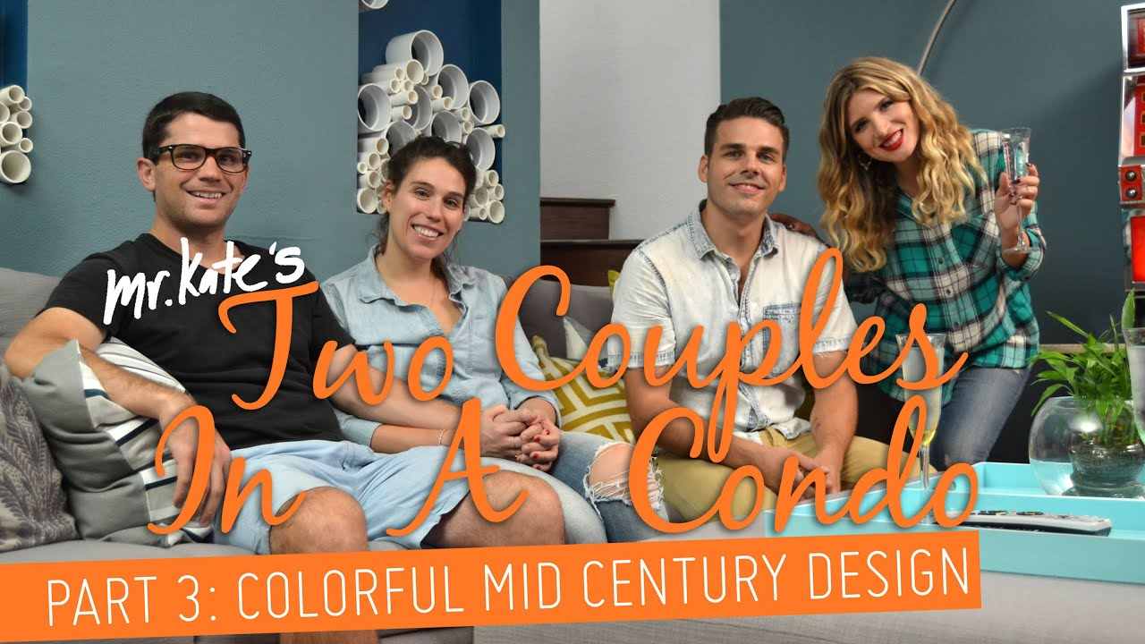 Colorful Mid-Century Bedroom Makeover!