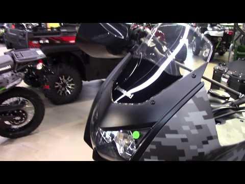 2017 Kawasaki KLR 650 Camo - New Street Bike For Sale - Niles, Ohio