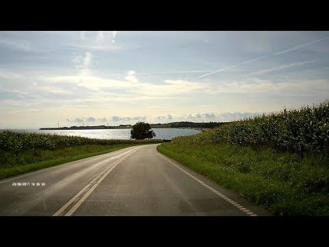 Driving coast to coast on Aeroe Island