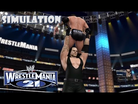 WWE 2K15 SIMULATION: Undertaker vs Randy Orton ...