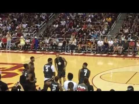 Chris Brown - Shmoney Dance [Bobby Shmurda - Hot Nigga] @ USC Galen Center