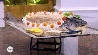 سالمون مع سلطة البطاطس | الشيف اسامة