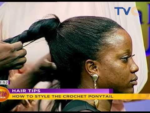 How To Style Crochet Ponytail   Wake Up Nigeria