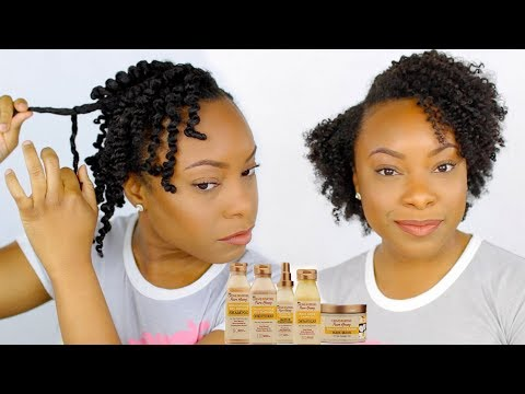 NEW Creme of Nature Pure Honey FULL DEMO & REVIEW | Wash Day & Twist Out Routine for Natural Hair!