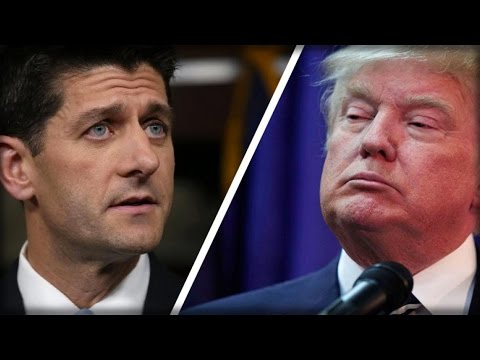 PAUL RYAN TAKES HIS FINAL BOW, STABS TRUMP IN THE BACK, REFUSES TO HELP