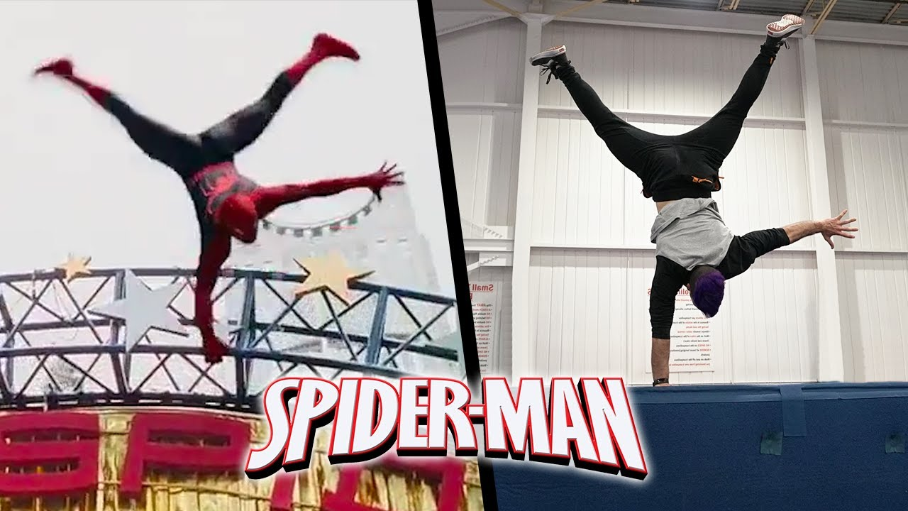 Stunts From Spiderman In Real Life (Spider-Man 3)