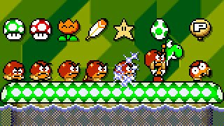 Super Goomba World - All Power-Ups. ᴴᴰ
