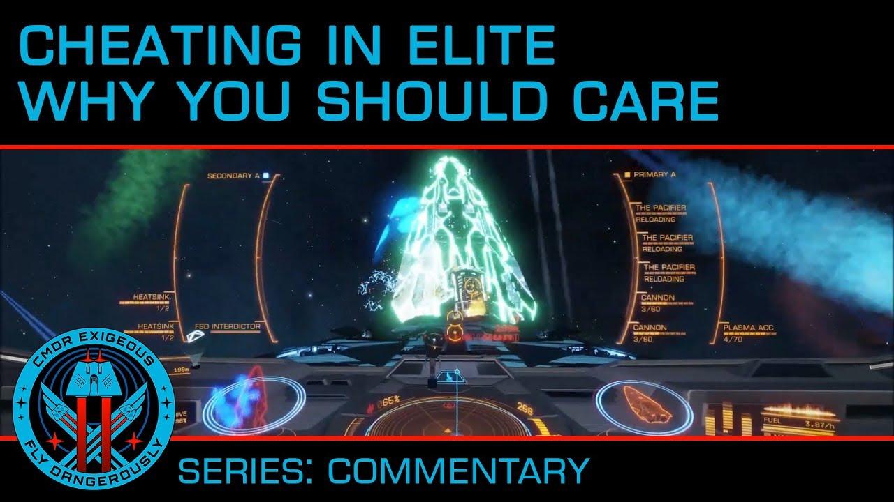 Elite: Dangerous player finds a program that lets you hack