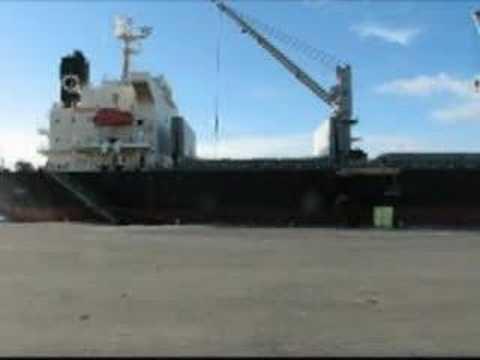 Western Sahara phosphate vessel