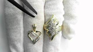 Ring and Pendant Estate Jewelry Suite