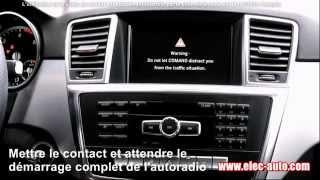 DVD de déblocage de la vidéo en roulant MERCEDES Comand APS Online NTG - TV FREE - Vidéo in motion