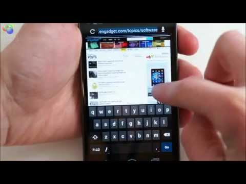 Android 4.0 Ice Cream Sandwich Review - Browser And Calendar.avi