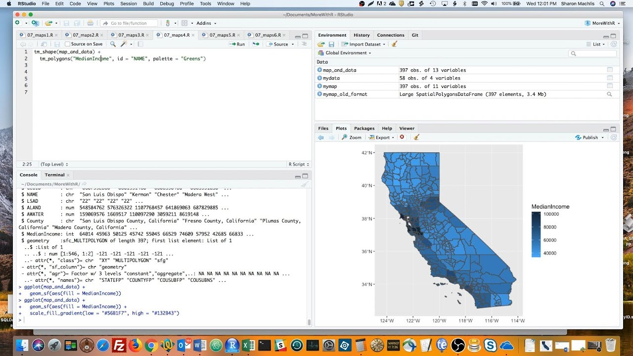 R language tip: Create maps in R