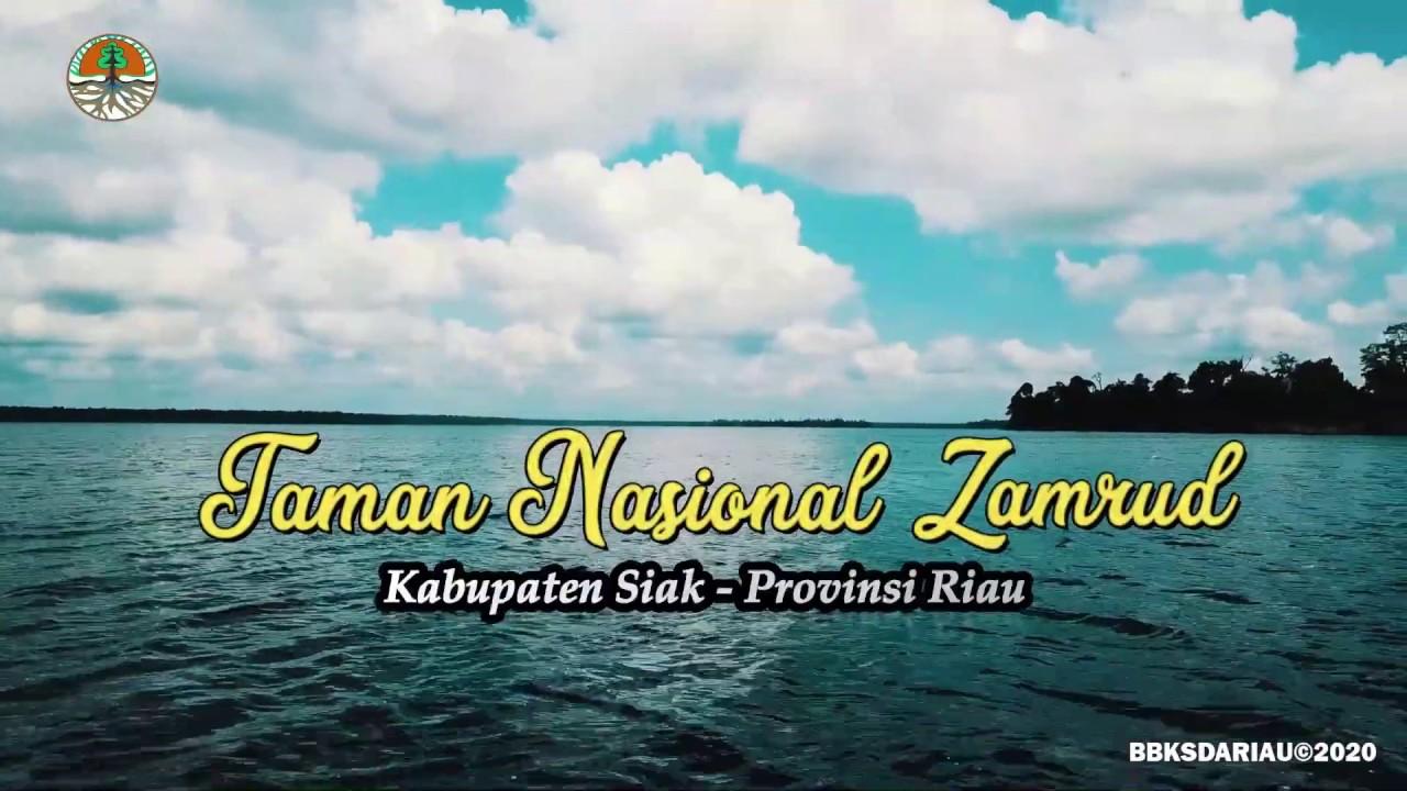 AMAZING... Keindahan Taman Nasional Zamrud