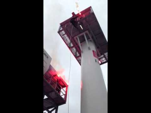 Opening offshore wind training facilities Falck Nutec Rotte