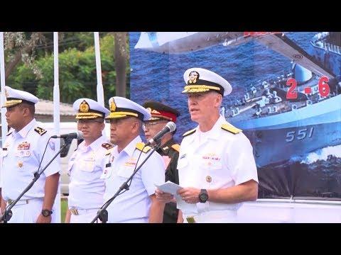Khai Mạc Tập Trận Hàng Hải ASEAN - Mỹ Tại Thái Lan