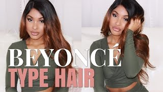 BEYONCE TYPE HAIR | Full Lace Wig. MyFirstWig x BeautyByCarla