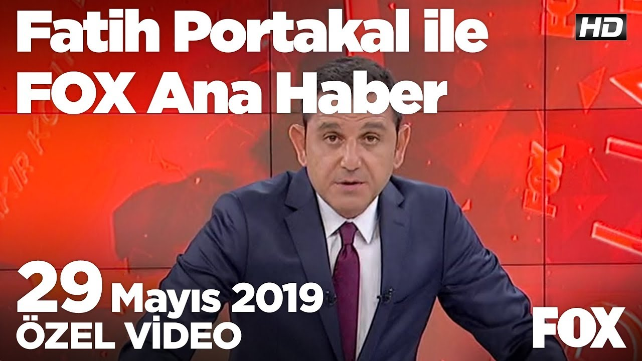 Fox Haber İzle Bugün: Hükümet yeni askerlik sisteminde frene bastı! 29 Mayıs 2019 Fatih Portakal ile